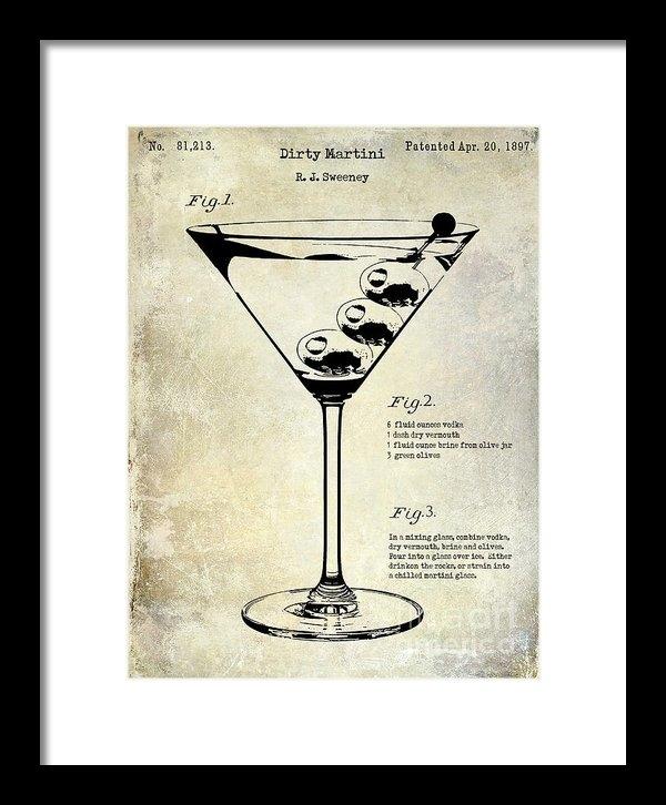 Jon Neidert - 1897 Dirty Martini Patent Print