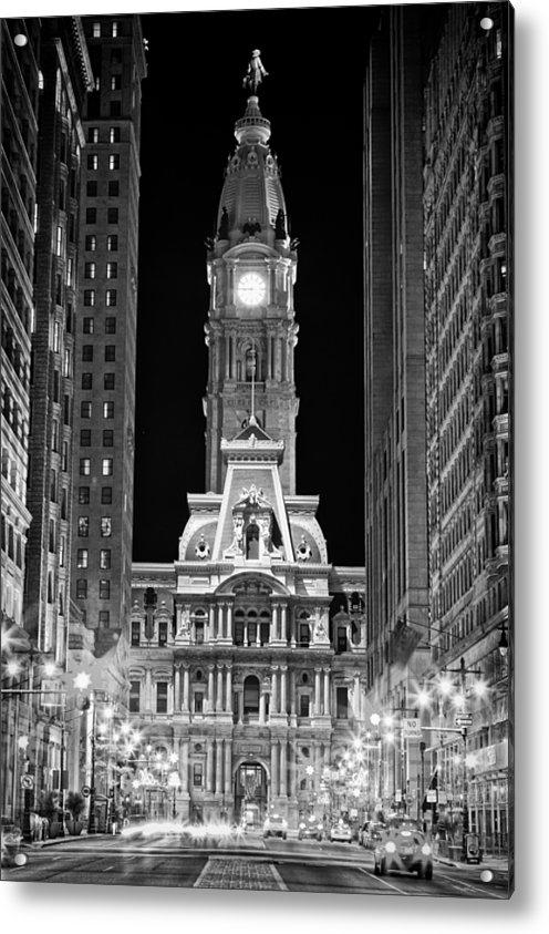 Val Black Russian Tourchin - Philadelphia City Hall at... Print