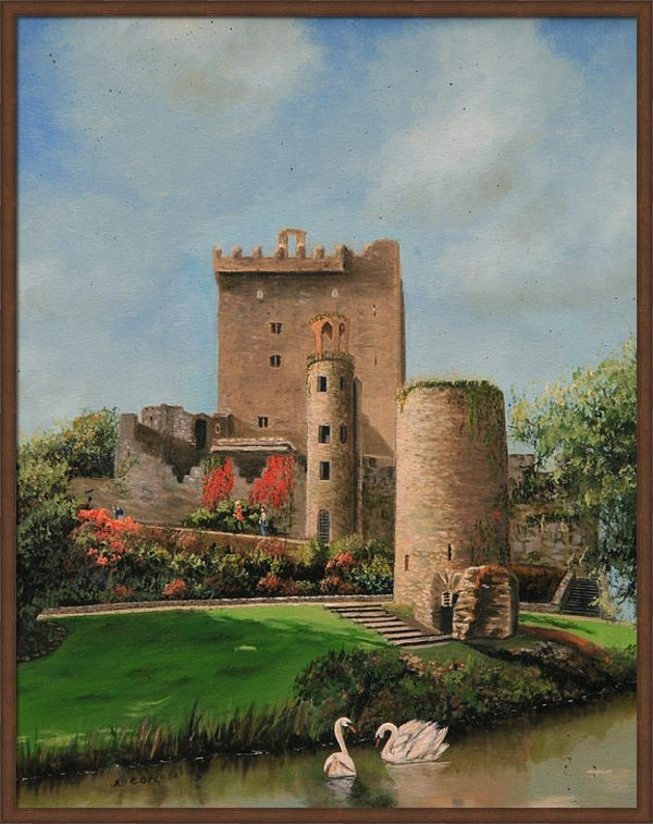 Cecilia  Brendel - Blarney Castle Ireland Print