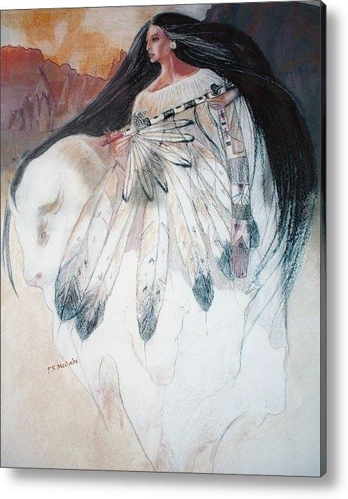 Pamela Mccabe - White Buffalo Calf Woman Print