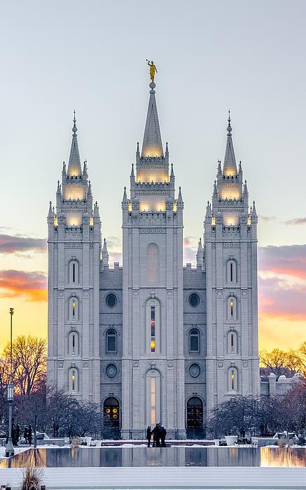 Eric Kunz - Salt Lake Temple Print