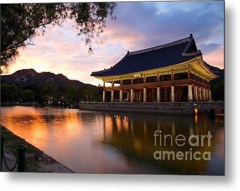 Jeremy Hansen - Gyeonghoeru Pavilion Gyeo... Print