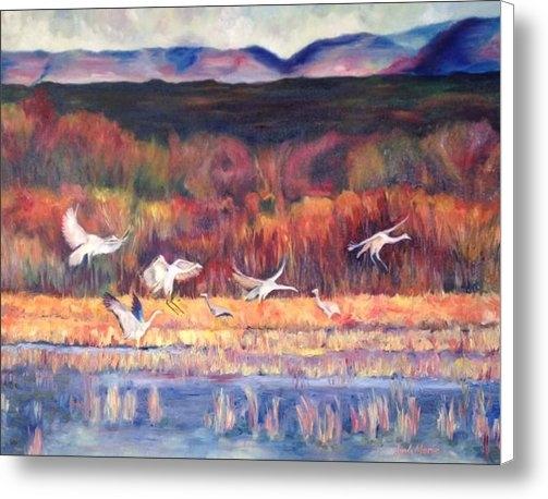Linda Carroll - Bosque Del Apache Print