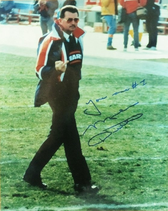Donna Wilson - Mike Ditka Chicago Bears ... Print