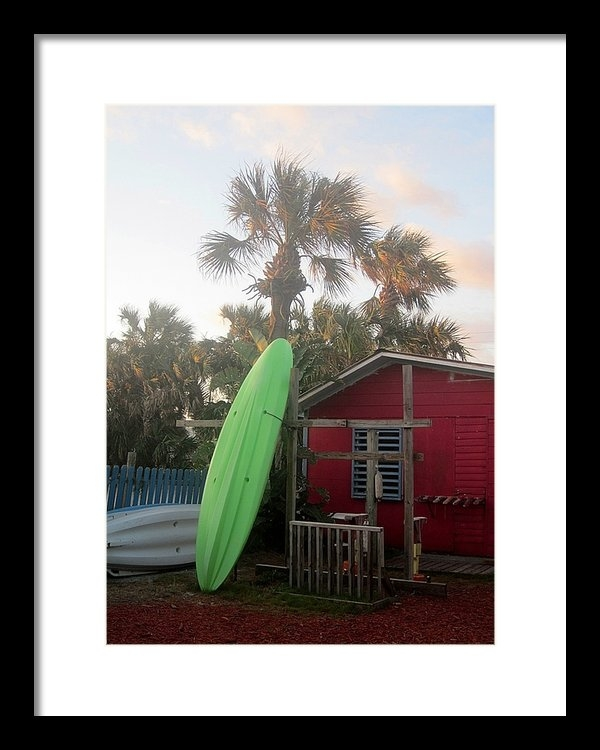 Pattie Frost - Beachside Shack Print