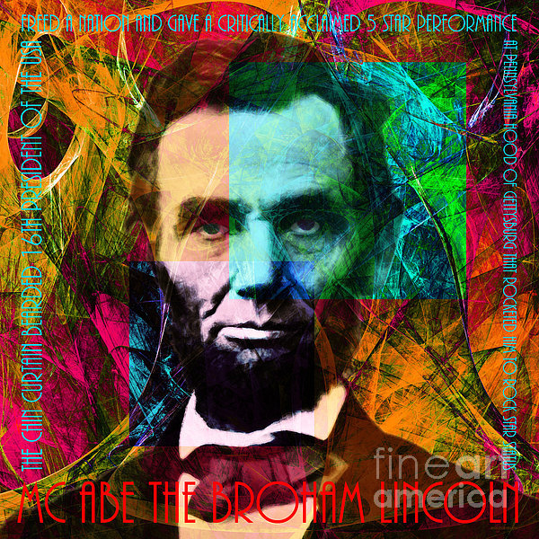 Wingsdomain Art and Photography - Abe The Broham Lincoln 20... Print