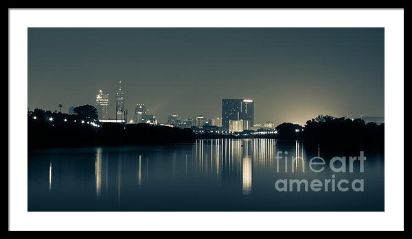 Jose Sanchez - Indianapolis reflection Print