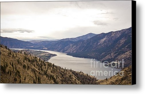 Andrea Goodrich - Lake Chelan from Above Print