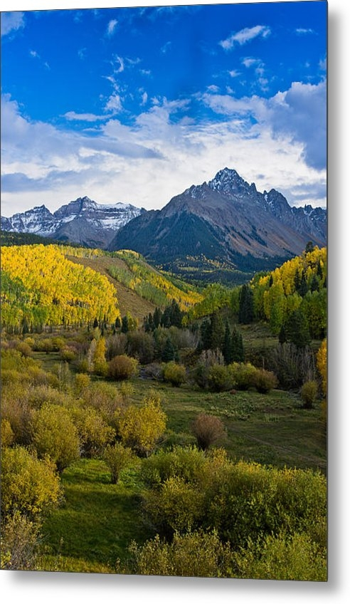 Greg Nyquist - Mount Sneffels under Autu... Print