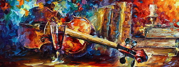 Leonid Afremov - Old Thoughts Print