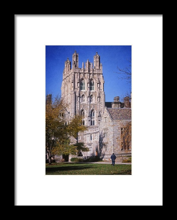 Joan Carroll - Memorial Quadrangle Yale ... Print