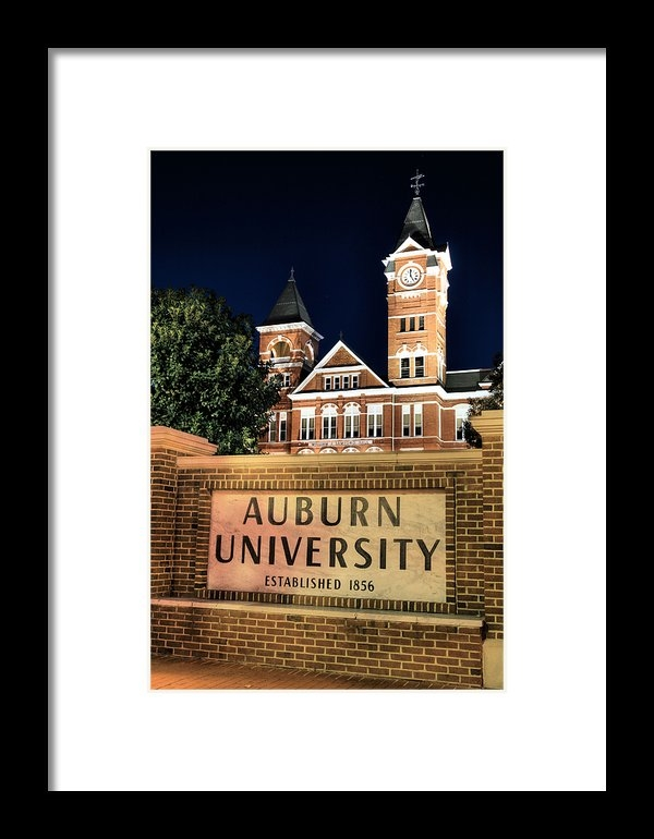 JC Findley - Auburn University Print