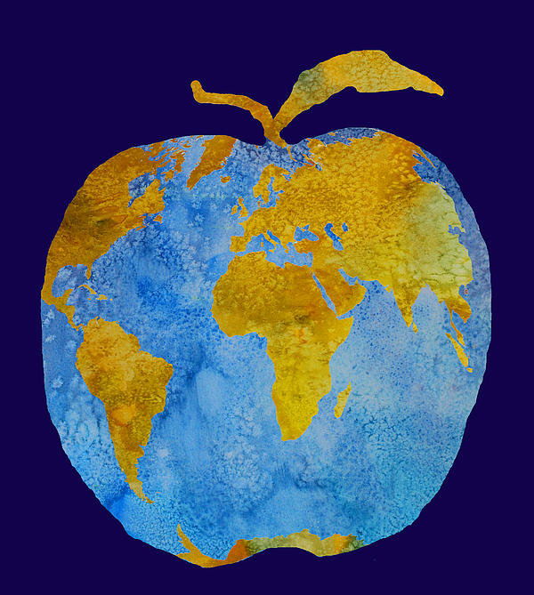 Jenny Armitage - Earth Apple Print