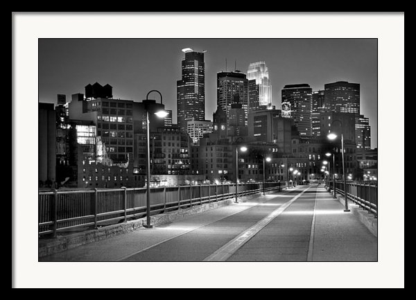 Jon Holiday - Minneapolis Skyline from ... Print