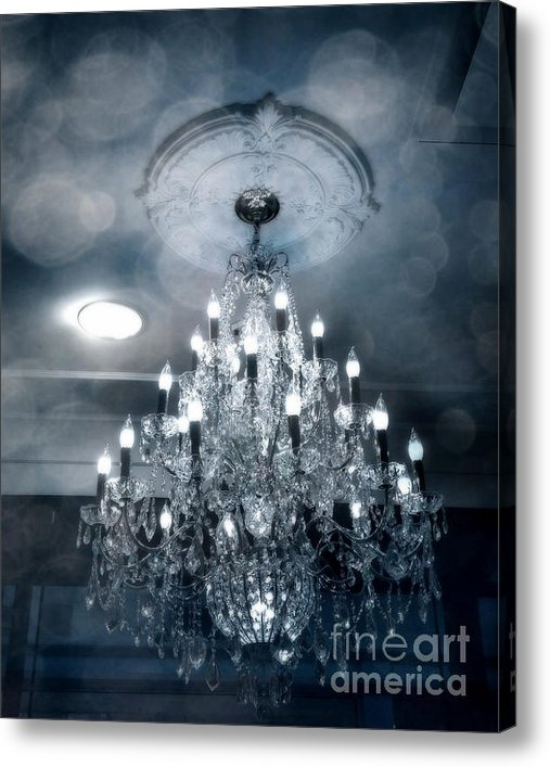 Kathy Fornal - Crystal Chandelier Photo ... Print