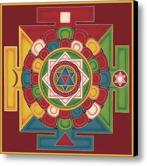 Carmen Mensink - Mandala of the 5 Elements... Print
