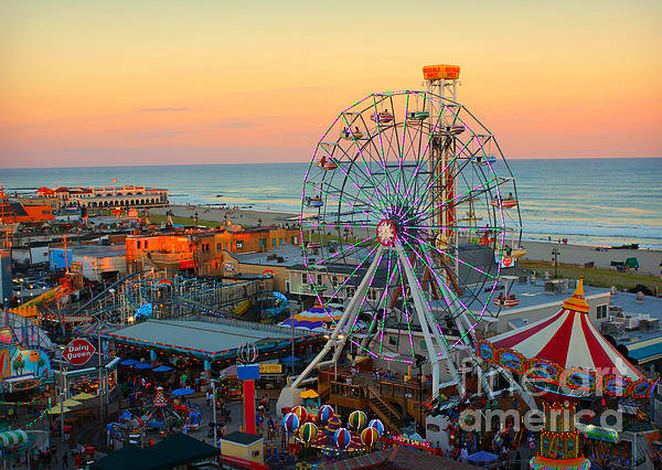 Beth Ferris Sale - Ocean City NJ Boardwalk a... Print
