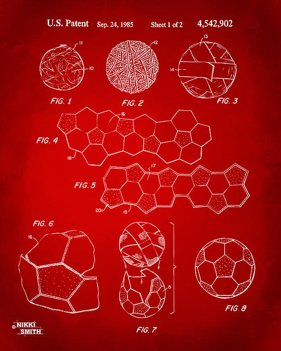 Nikki Marie Smith - Soccer Ball Construction ... Print