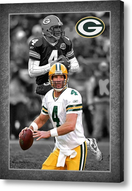 Joe Hamilton - Brett Favre Packers Print