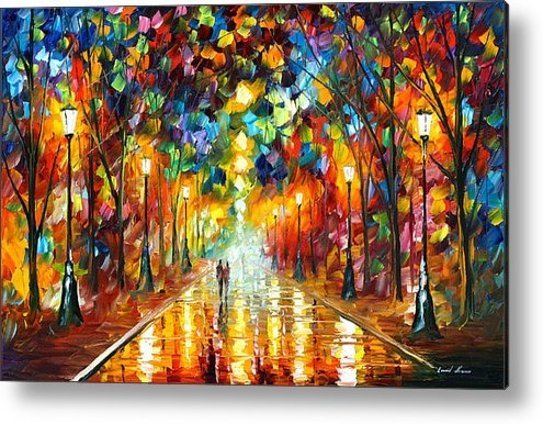Leonid Afremov - Farewell To Anger Print