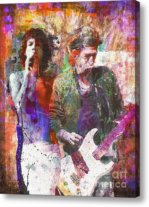 Ryan RockChromatic - The Rolling Stones Origin... Print