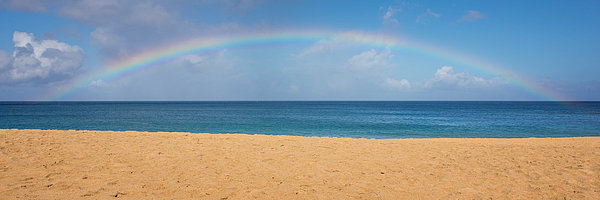 Brian Harig - Rainbow Over The Pacific ... Print