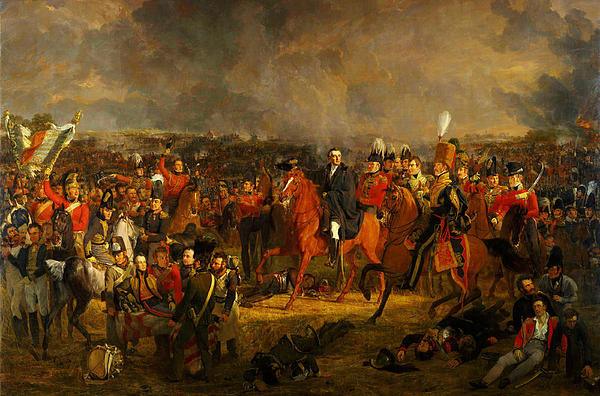 Celestial Images - The Battle of Waterloo Print