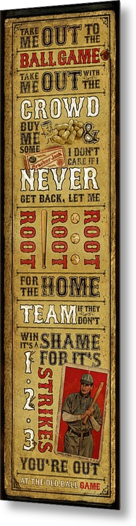 Jeff Steed - Take Me Out the the Ballg... Print