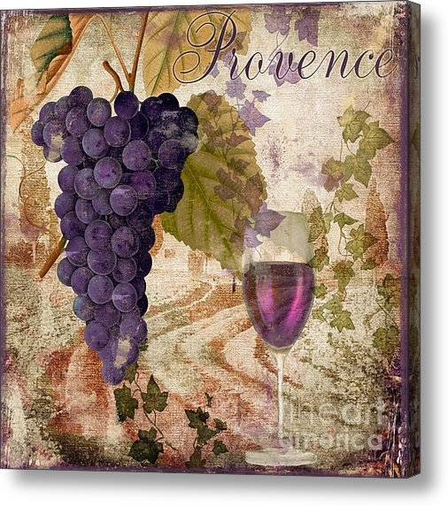 Mindy Sommers - Wine Country Provence Print