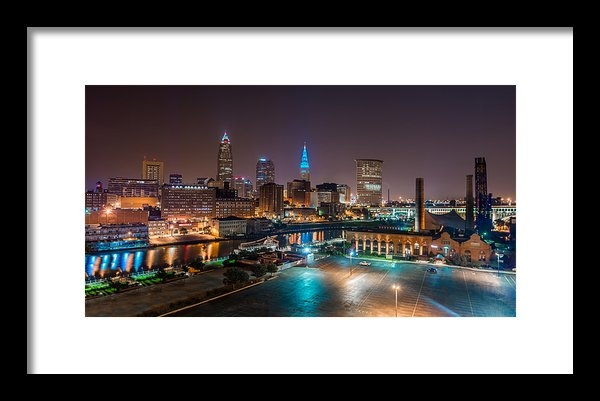 Frank  Cramer - Great View of Cleveland Print