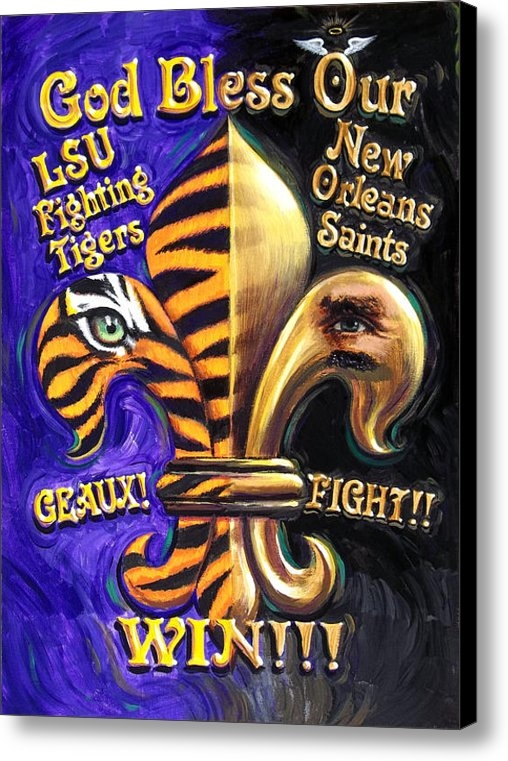 Mike Roberts - God Bless Our Tigers And ... Print