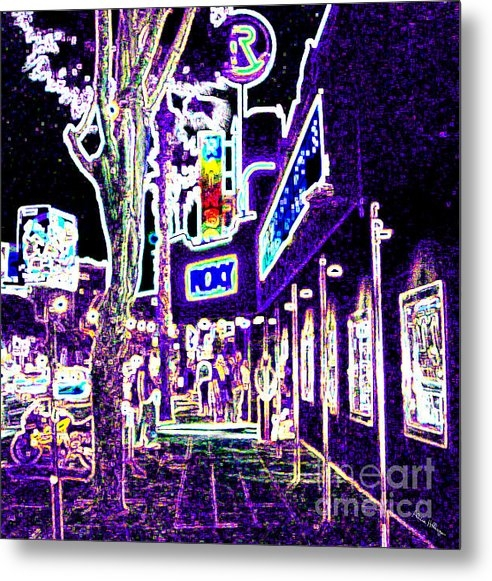 Alicia Hollinger - Sunset Strip - Black Ligh... Print