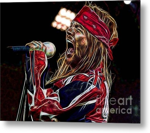 Marvin Blaine - Axl Rose Collection Print