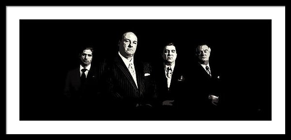 Laurence Adamson - The Sopranos Print