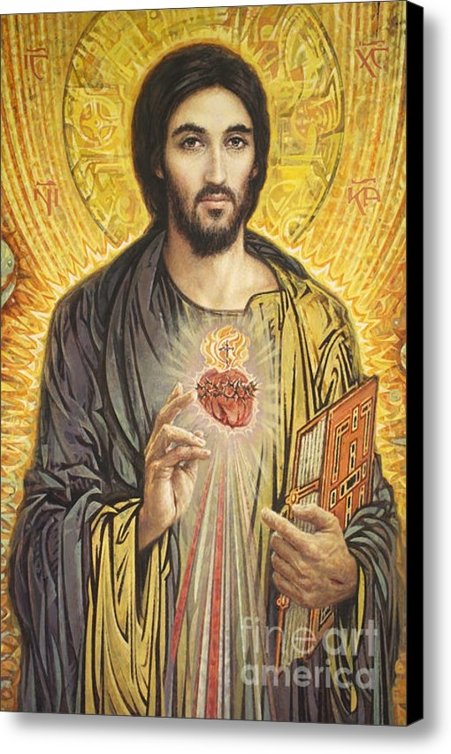 Smith Catholic Art - Sacred Heart of Jesus olm... Print