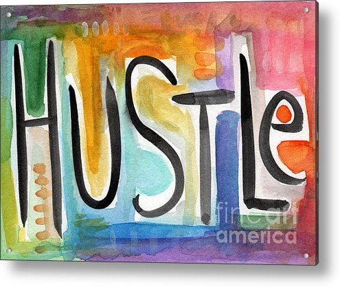 Linda Woods - Hustle- Art by Linda Wood... Print