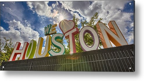 Chris Multop - We Love Houston Print