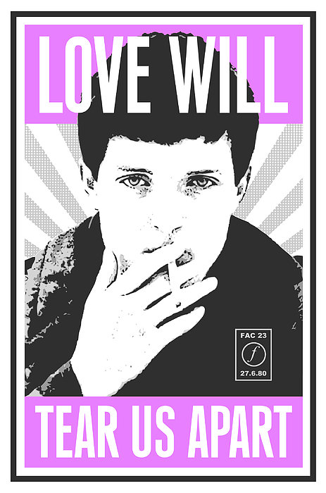 Tom Deacon - Ian Curtis Print