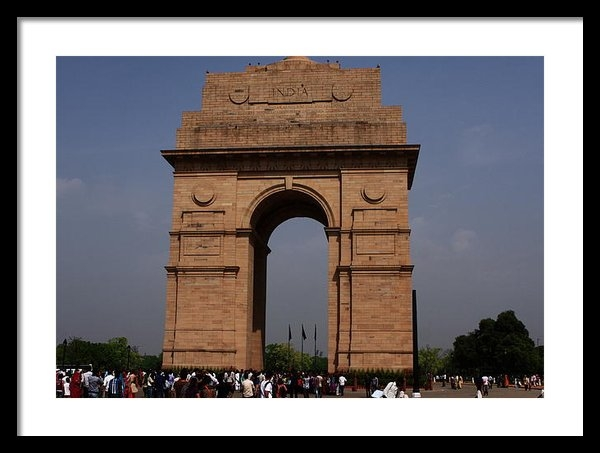 Aidan Moran - India Gate - New Delhi - ... Print