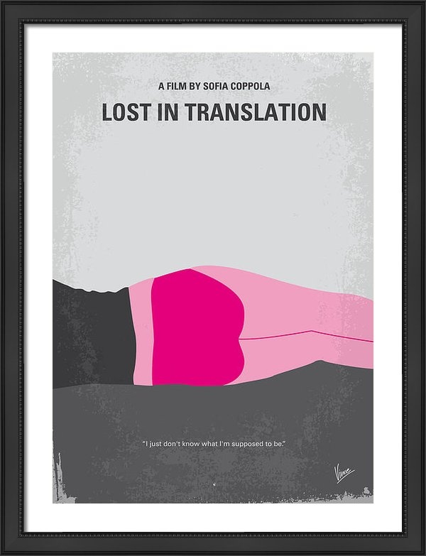 Chungkong Art - No287 My Lost in Translat... Print