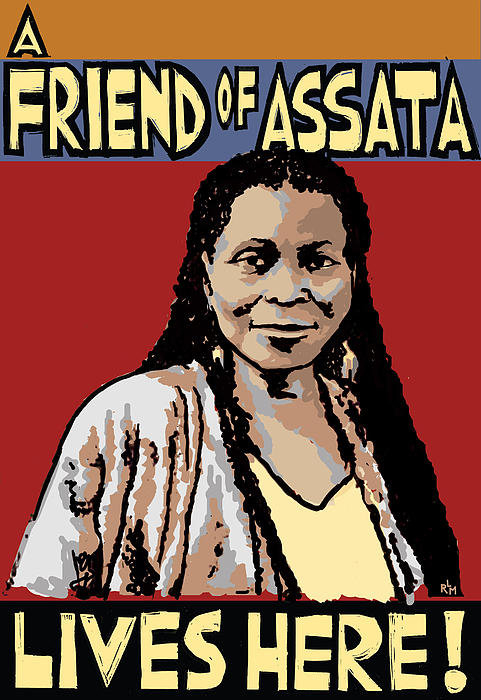 Ricardo Levins Morales - Friend of Assata Print