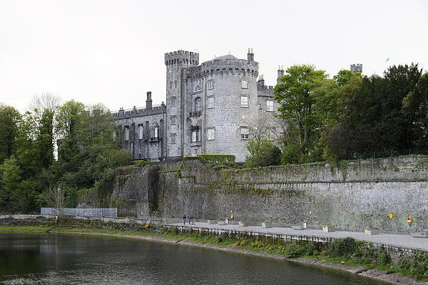 Christiane Schulze Art And Photography - Kilkenny Castle Seen From... Print