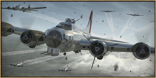 Robert Perry - B-17G Hikin