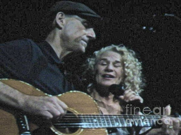Christy Gendalia - James Taylor and Carole K... Print
