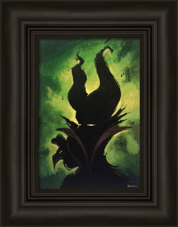 Jesus Catalan - Maleficent Print