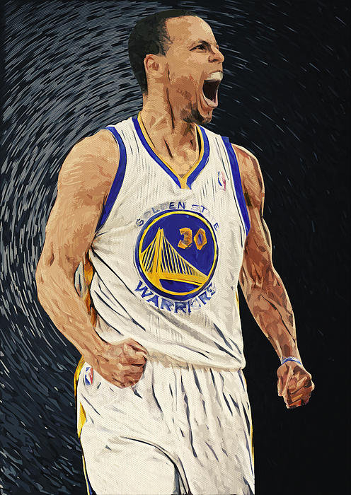 Taylan Soyturk - Stephen Curry Print