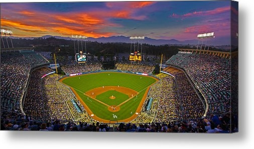 Kevin D Haley - Dodger Stadium Print