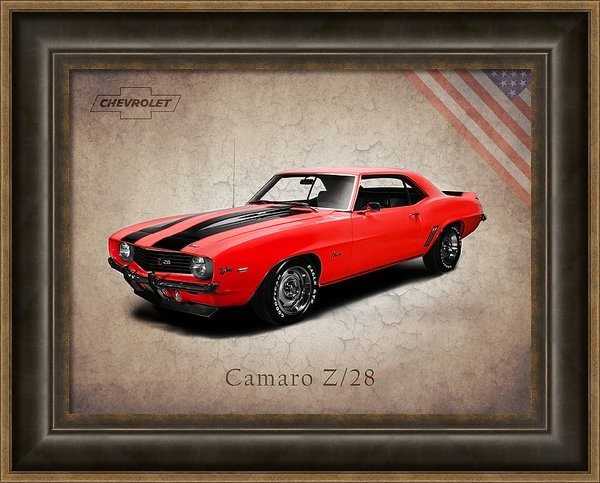 Mark Rogan - Chevrolet Camaro Z 28 Print
