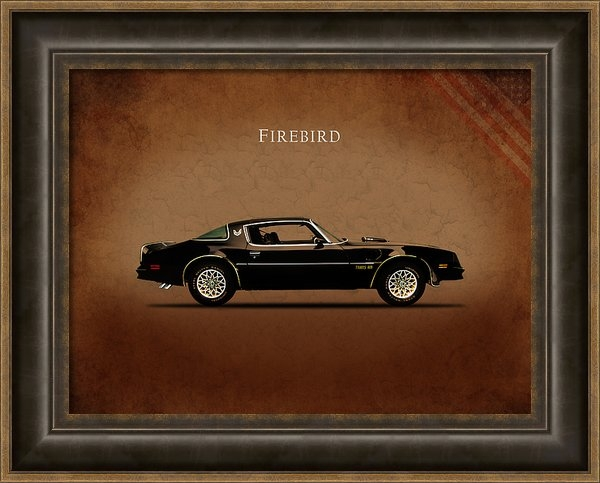 Mark Rogan - Pontiac Firebird Print