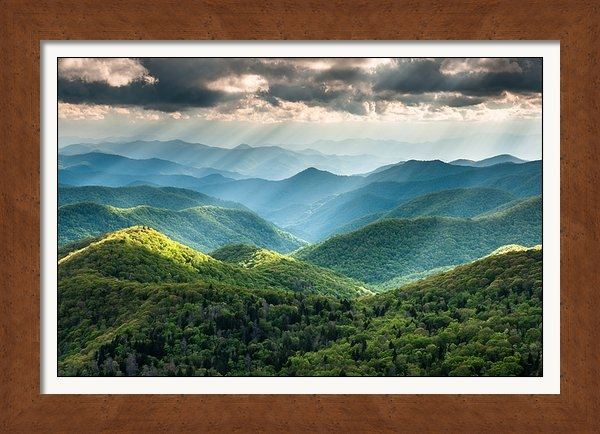 Mark VanDyke - Blue Ridge Southern Appal... Print